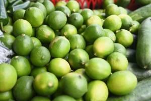 Limón en el mercado