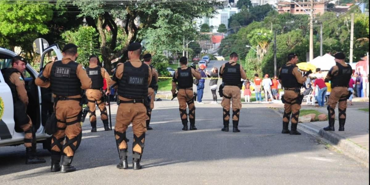 Polícia reforça segurança no entorno da Superintendência da PF em Curitiba