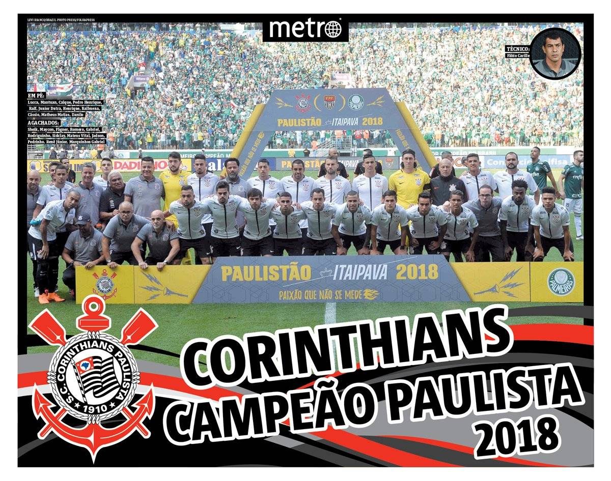poster corinthians campeão