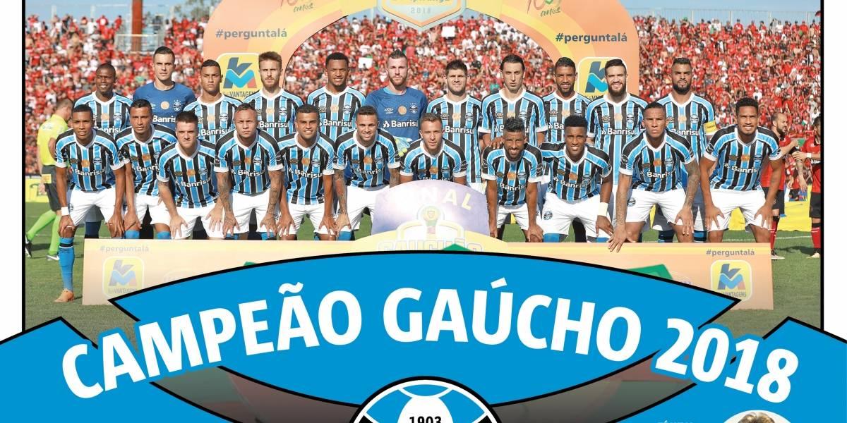 Baixe o pôster do Grêmio campeão gaúcho de 2018  dca787d4053cc