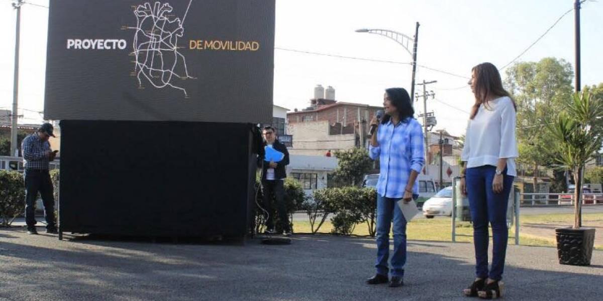 Propone Alejandra Barrales ampliación del Metro y Metrobús