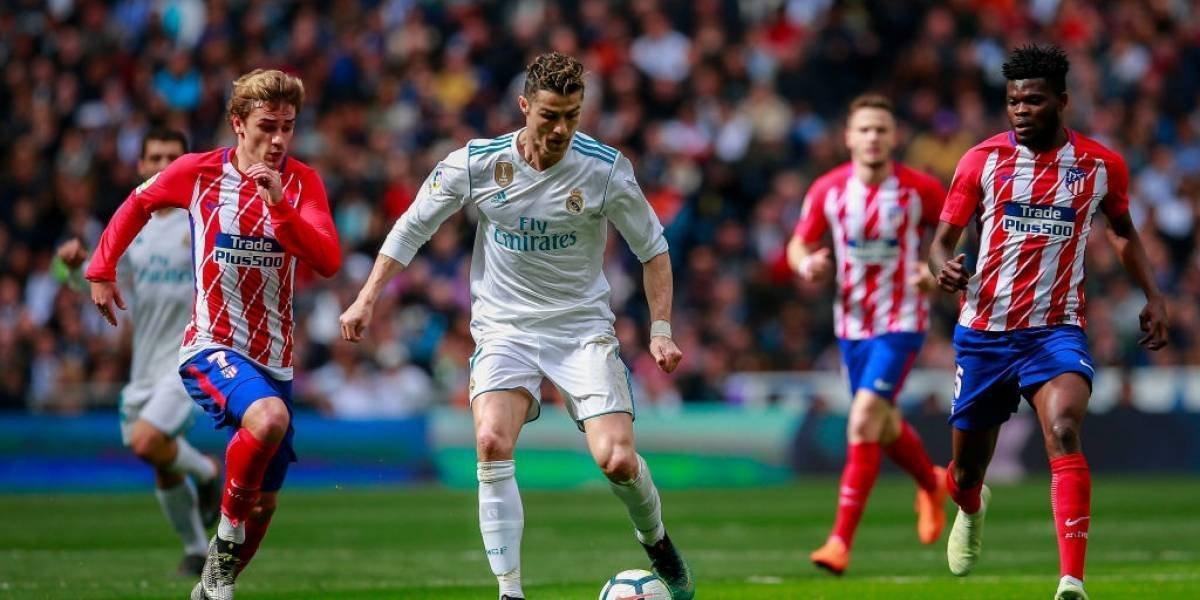 Barcelona celebra el empate entre Real Madrid y Atlético
