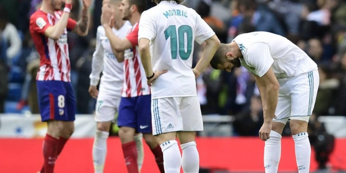 Madrid y Atleti dividen puntos y le dejan el camino libre al Barcelona