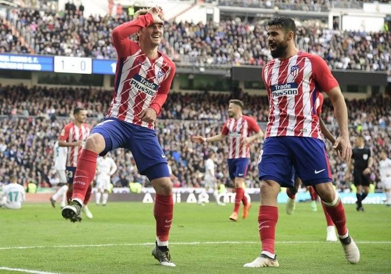 Gol de Antoine Griezmann contra el Real Madrid