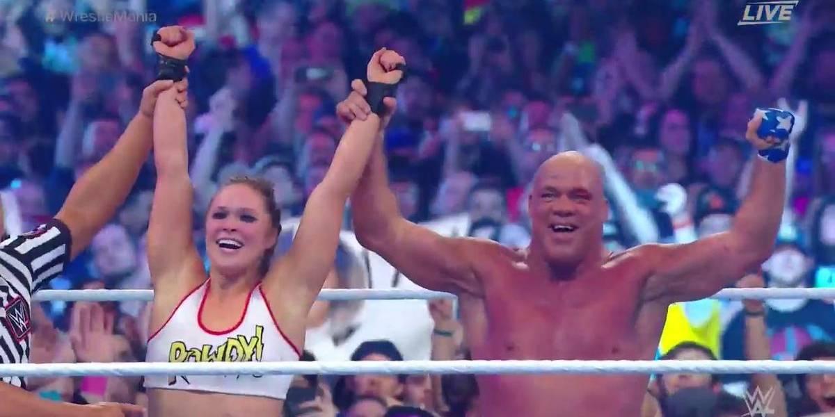 El brutal y brillante debut de Ronda Rousey en Wrestlemania