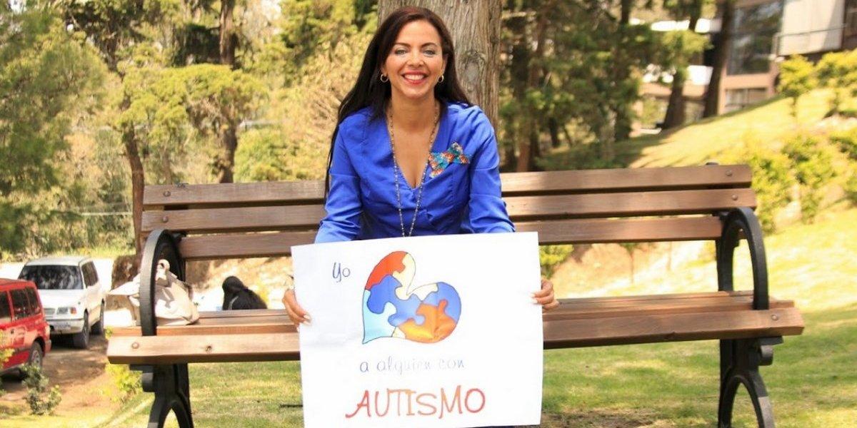 """Sofía Lachapelle: La periodista de """"Telemundo"""" visita Guatemala y habla sobre el autismo"""