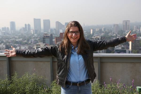 Margarita Martínez Fisher, abanderada de la coalición CDMX al Frente
