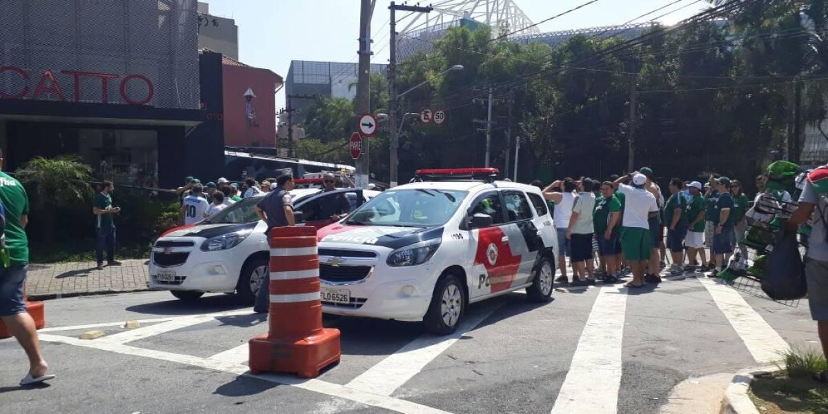 Polícia intensifica patrulhamento na região do Allianz Parque