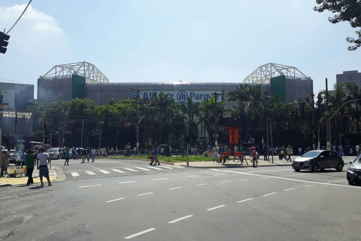 Região em volta do Allianz Parque Eliane Quinalia/Metro Jornal