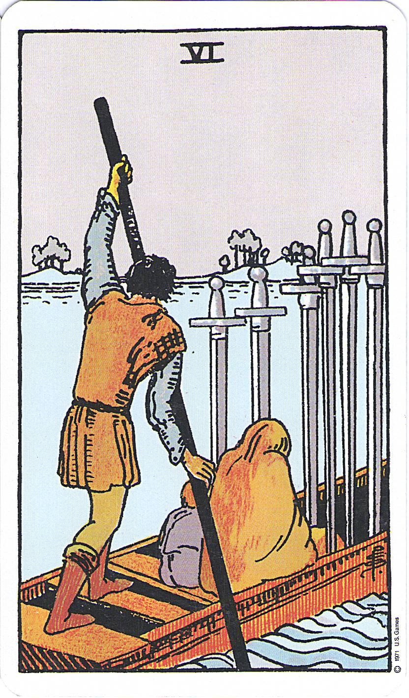 seis de espadas tarot