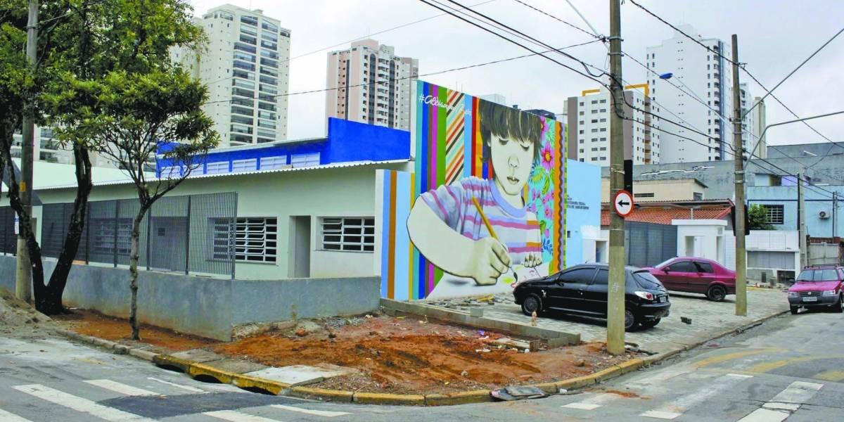 Entrega de escola em São Caetano, em SP, está atrasada em três meses