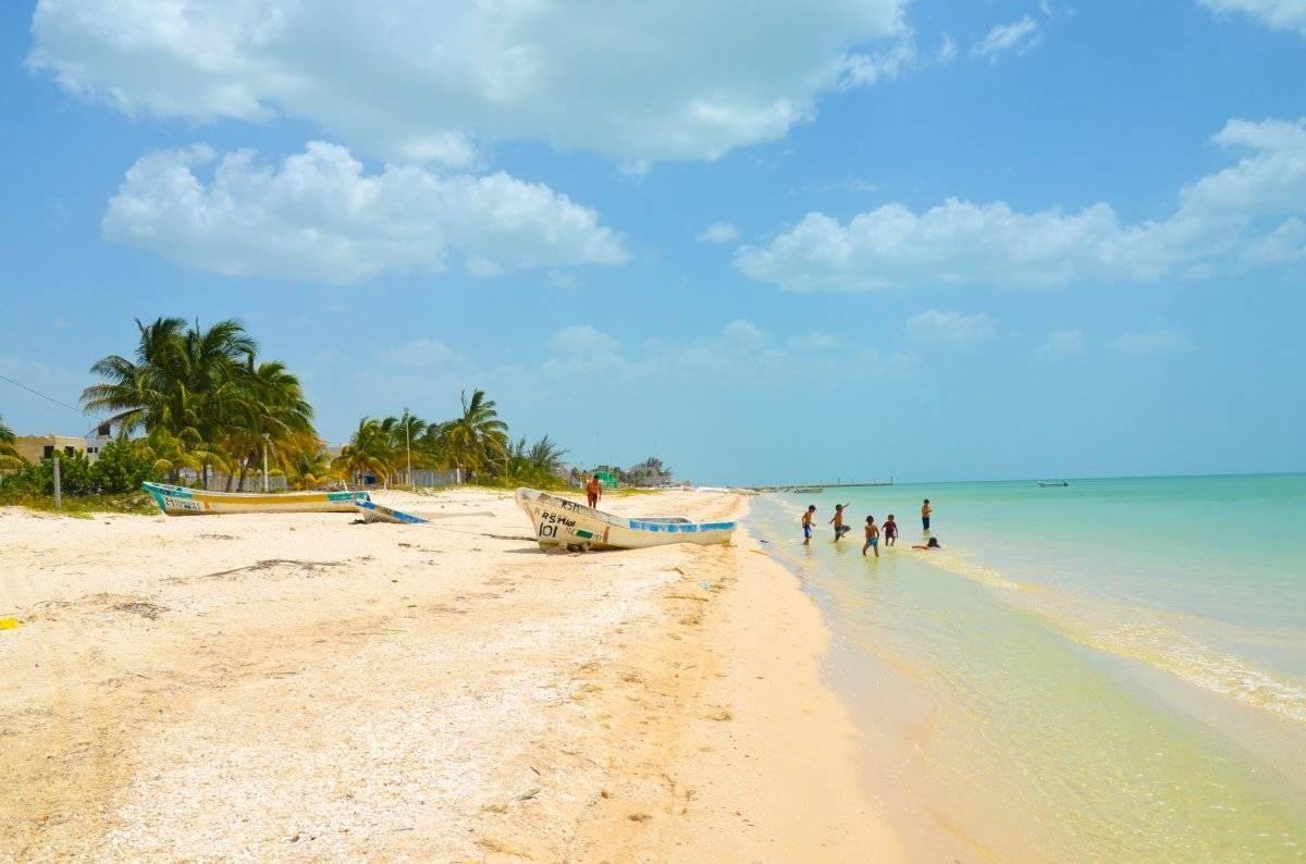 Playa Celestún