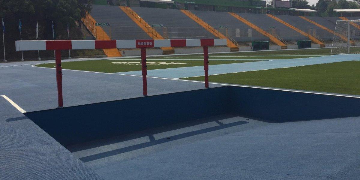 Guatemala cuenta ahora con una pista de primer mundo para la práctica del atletismo