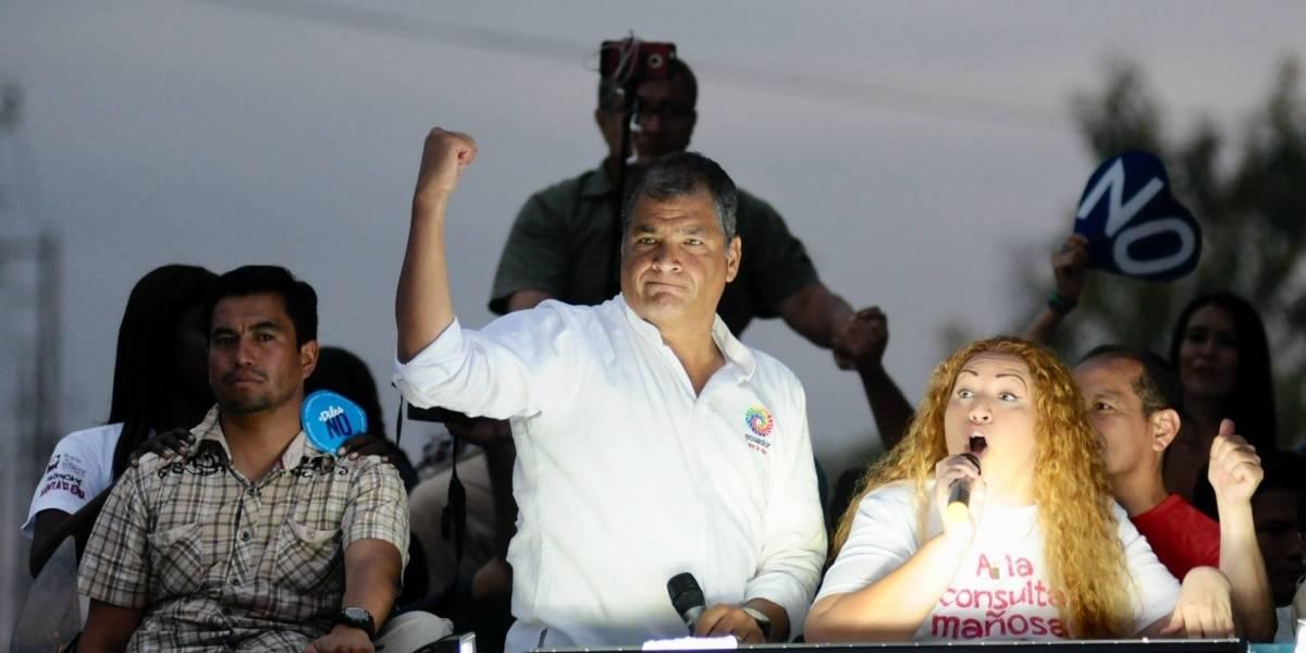 Señalan a Correa por irregularidades