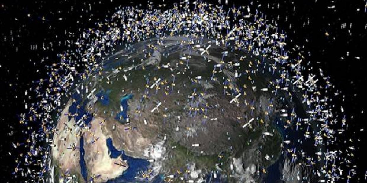 Resultado de imagen para Basura Espacial