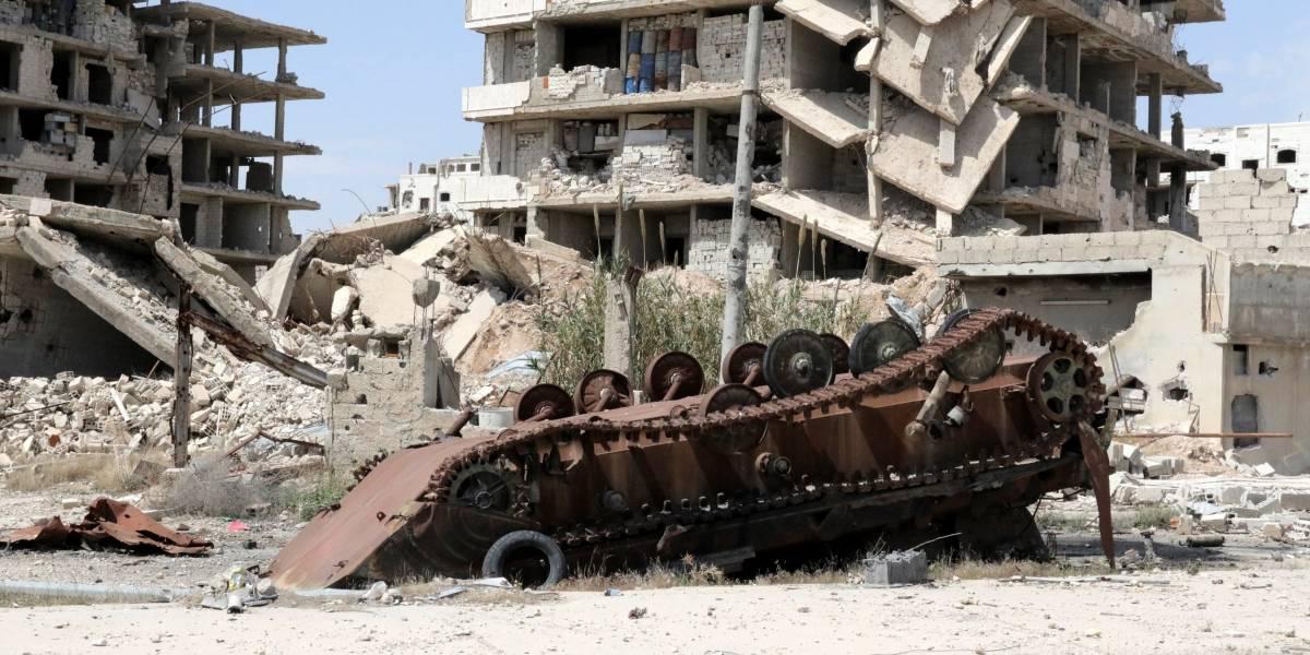 Dramáticas imágenes que muestran magnitud de ataque químico en Siria