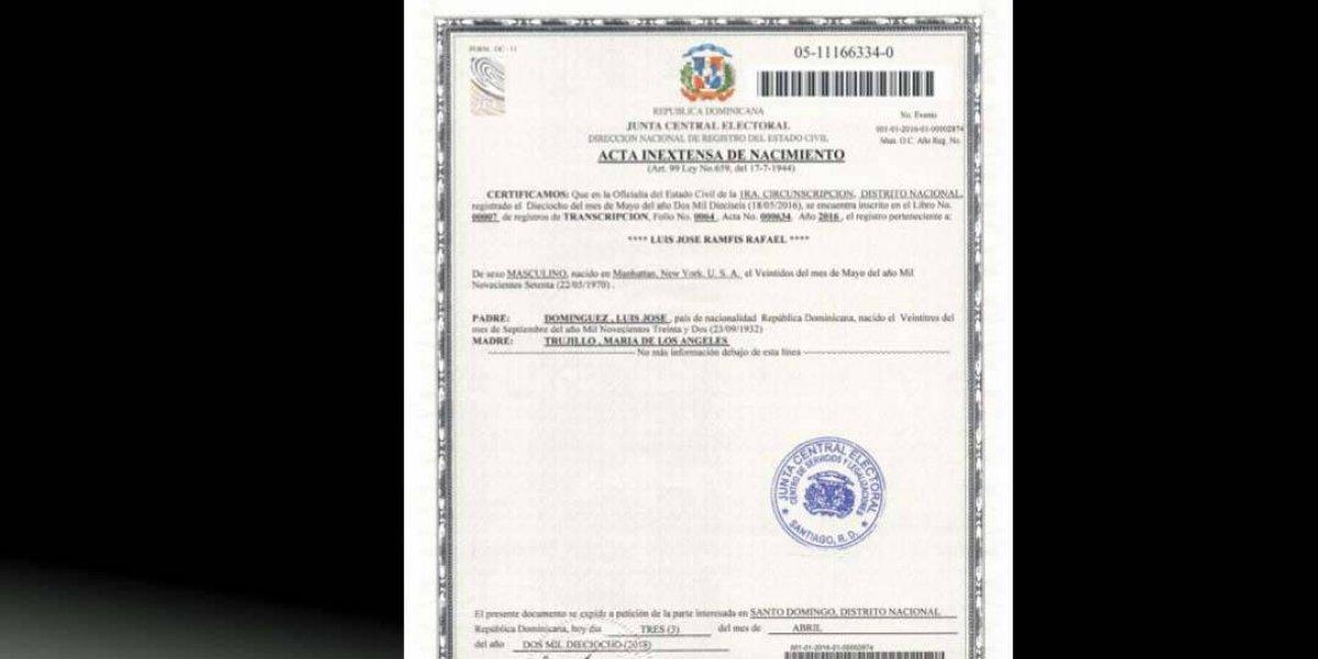 Abogado analiza impedimentos constitucionales de Ramfis