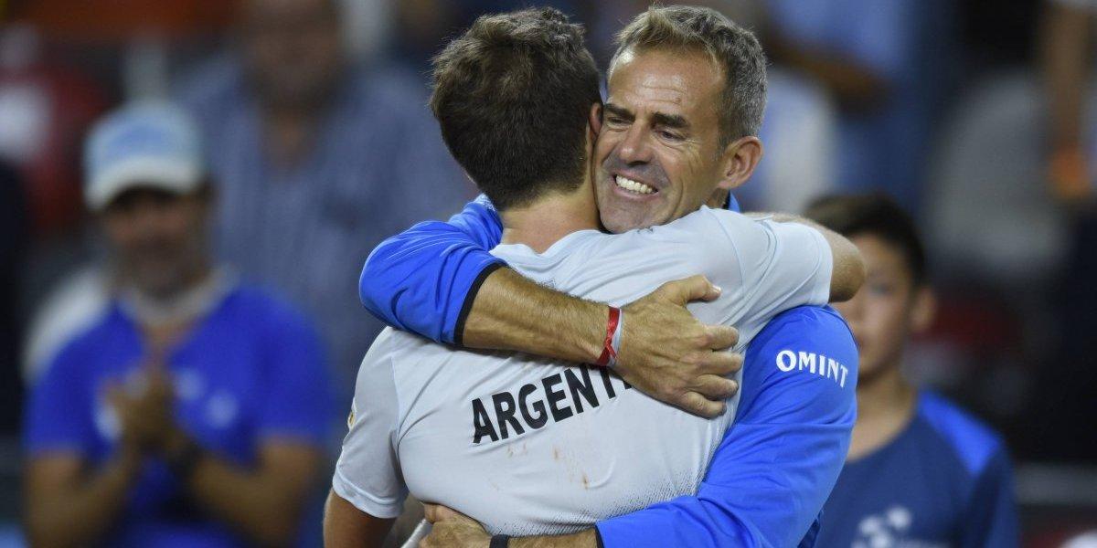 """Capitán argentino confesó que el equipo de Massú lo puso mal: """"Sufrimos mucho, por el nivel de los chilenos"""""""