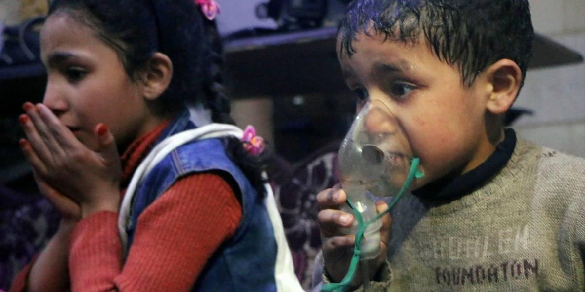 Las dramáticas imágenes que muestran la magnitud del último presunto ataque químico en Siria