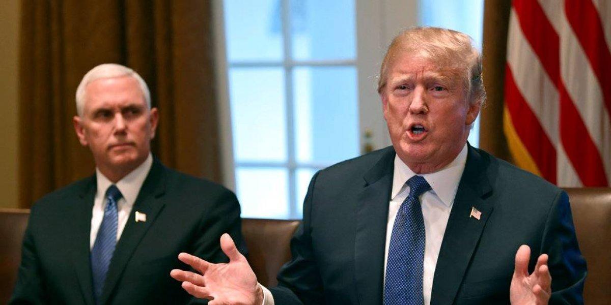 Donald Trump ordenó acción militar en Siria en alineación con Francia y el Reino Unido
