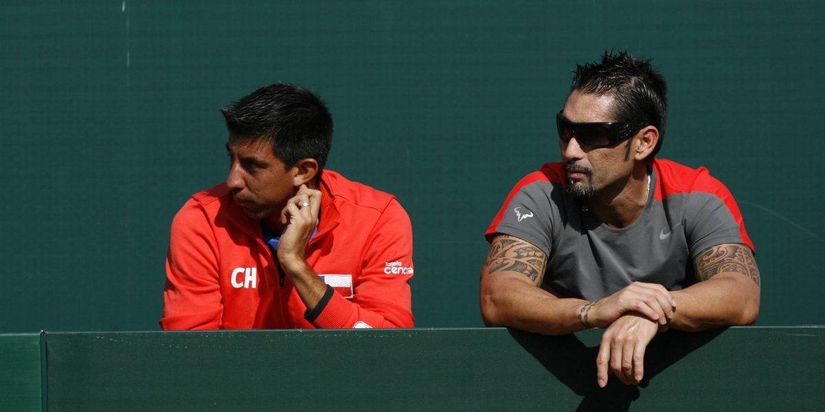 Jorge Aguilar, la mano derecha perfecta de Massú ante la ausencia del Chino Ríos en la Davis contra Argentina