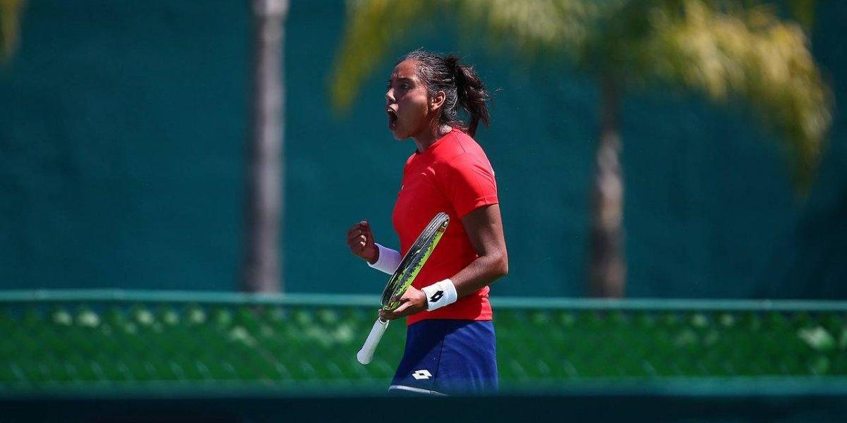 El tenis chileno mete ruido: Daniela Seguel logró su primer triunfo WTA y sigue sorprendiendo en Bogotá