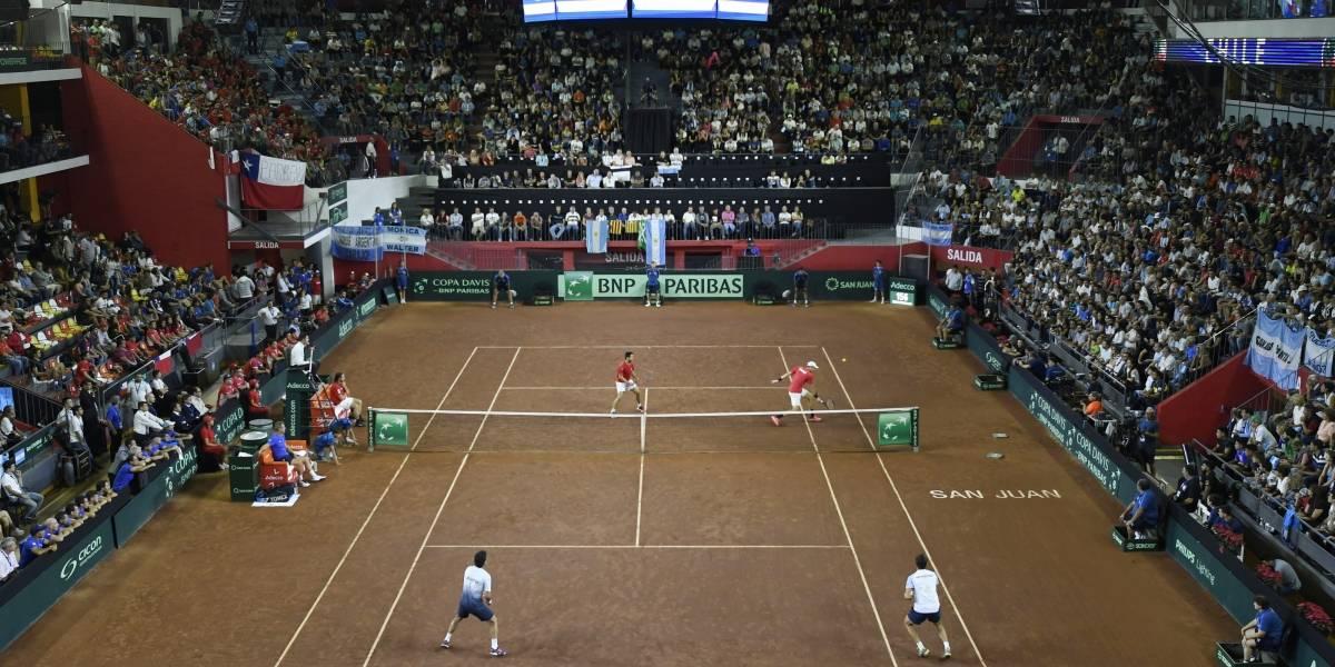 Las estratosféricas diferencias entre la organización de Chile y Argentina para las series de Copa Davis