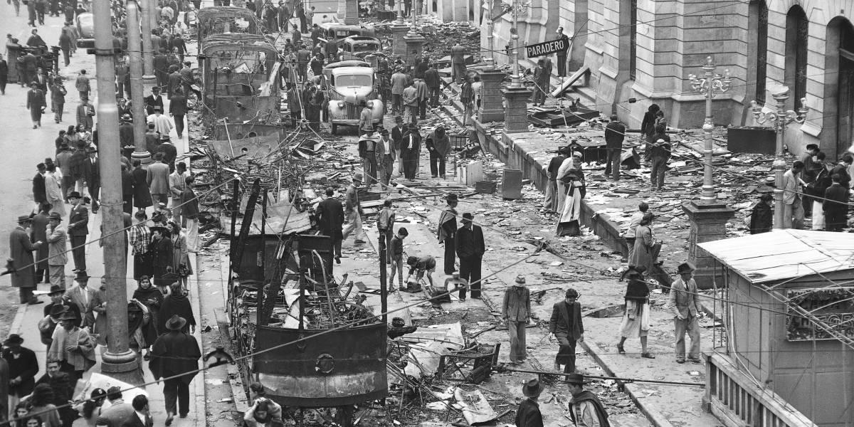 Fotos: El Bogotazo, 70 años del asesinato que cambió la historia del país