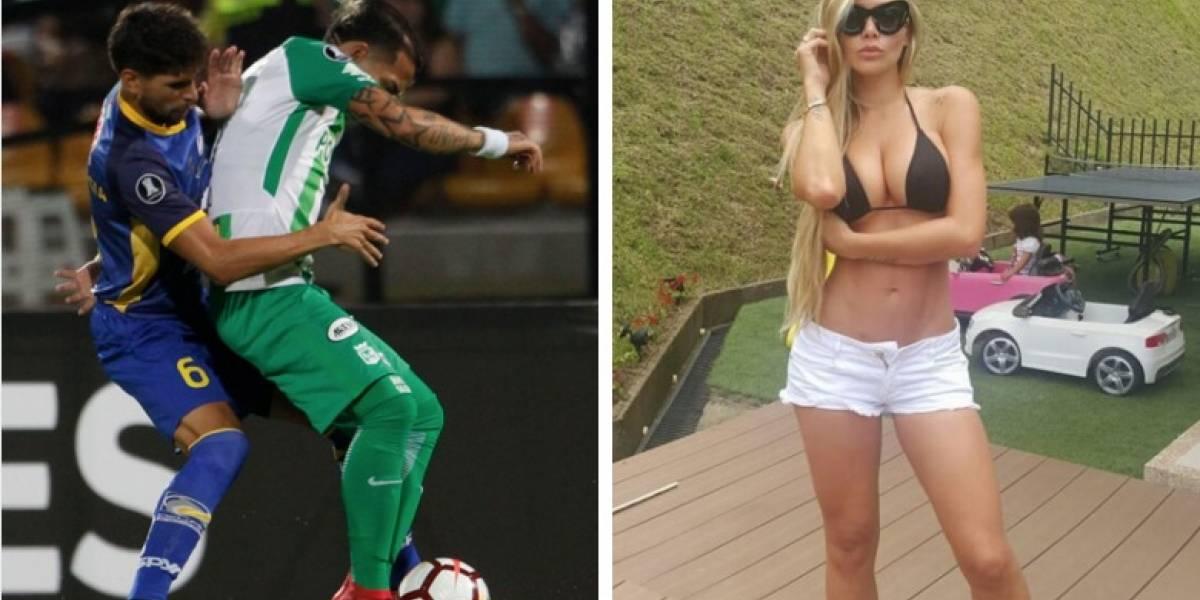 Exesposa de Dayro Moreno reveló por qué se separó del goleador de Nacional