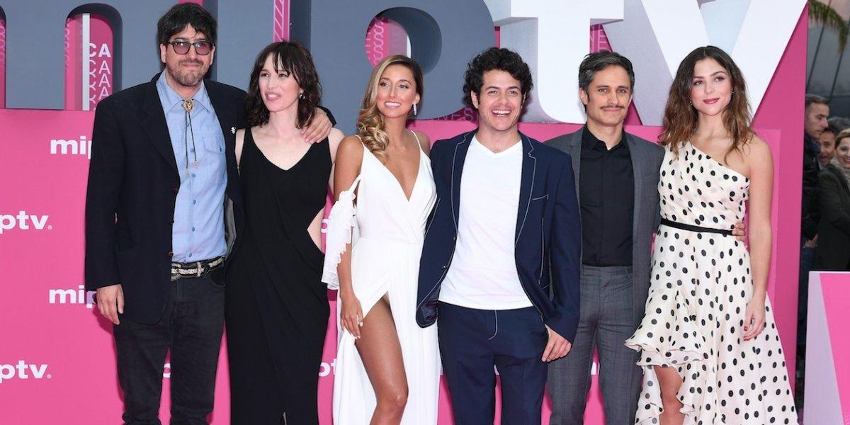 Gael García presenta 'Aquí en la tierra' en Cannes