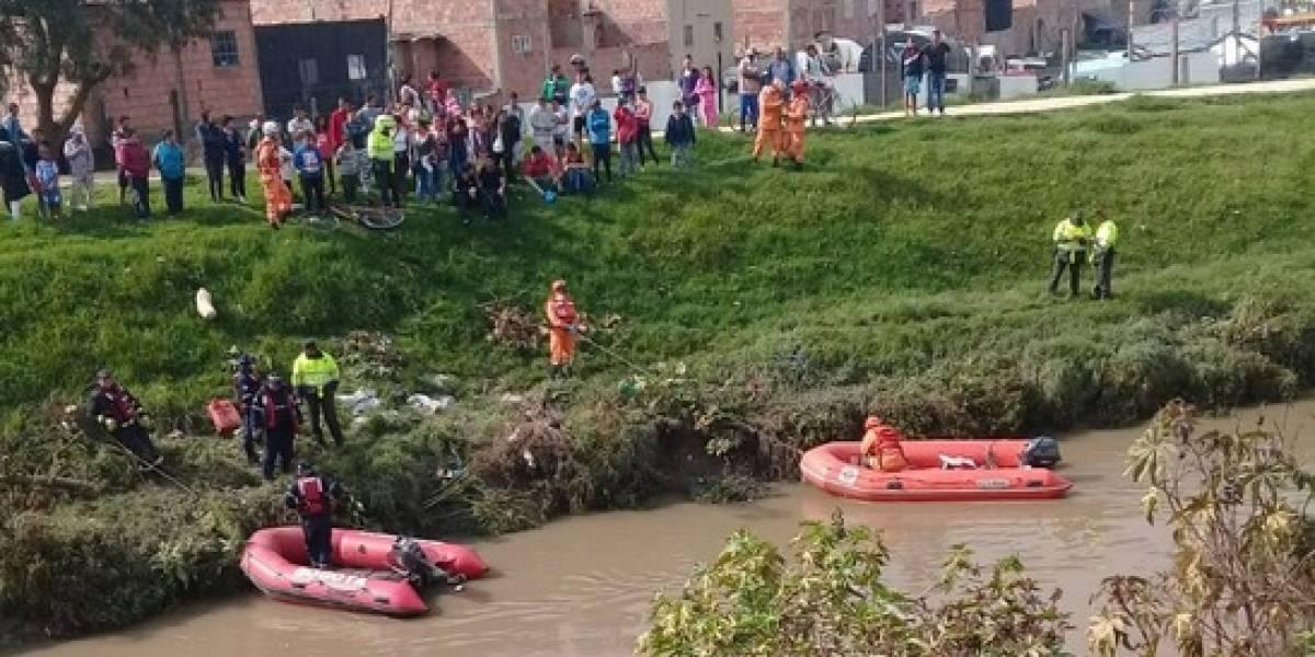Autoridades hallan el cuerpo del menor que había caído al río Tunjuelito