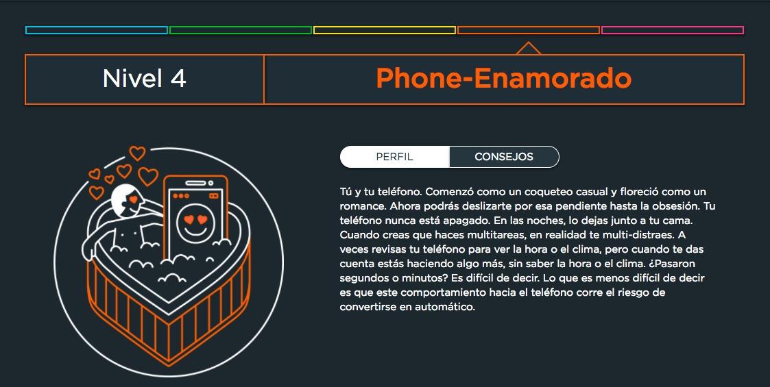 Motorola lanza un test para saber si eres adicto a tu móvil
