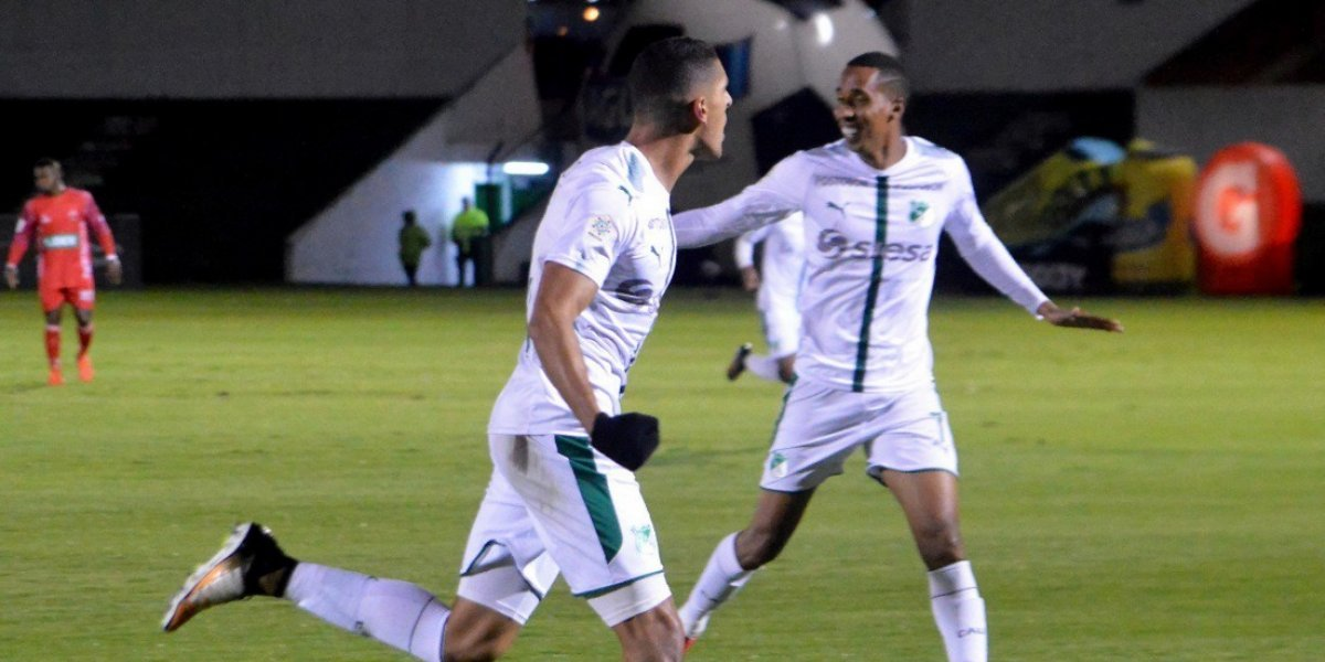 Cali se presenta en la vigente Copa Sudamericana, frente a Danubio