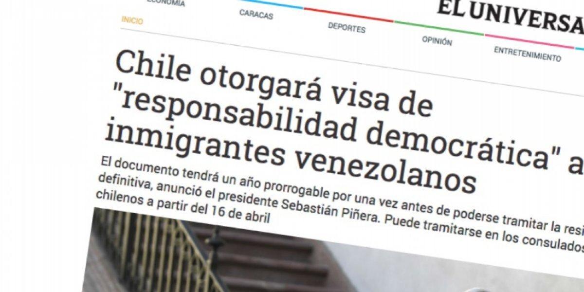Nueva situación migratoria en Chile: así fue la expectación que genera en la prensa internacional