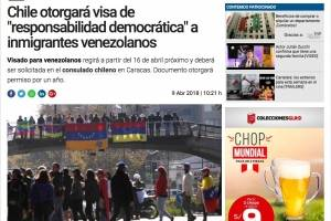 Así informaron los medios extranjeros sobre nuevas políticas migratorias en Chile
