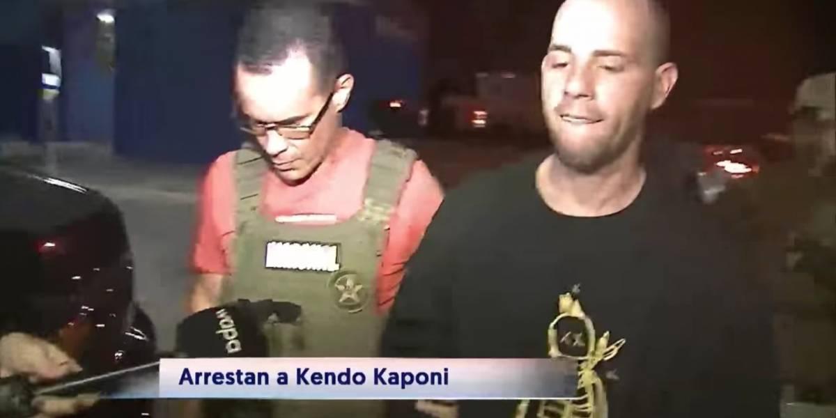 Reggaetonero Kendo Kaponi es arrestado por asalto y robo a mano armada