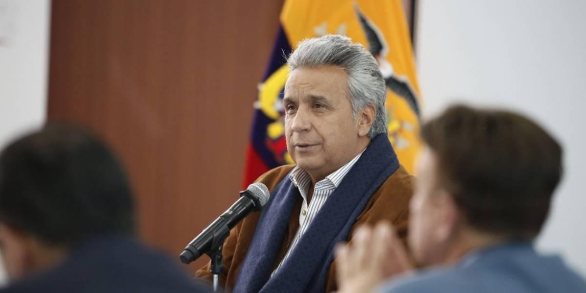 Lenín Moreno sobre periodistas secuestrados: Nuestra más alta prioridad es que regresen inmediatamente