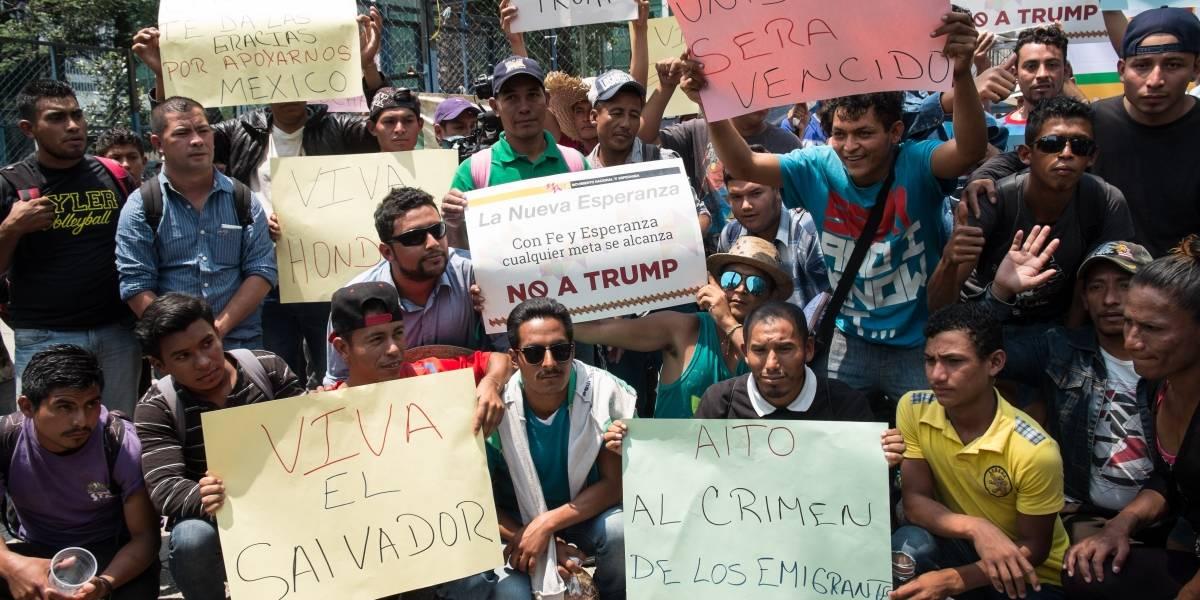 Caravana Migrante reanuda su marcha rumbo a la CDMX