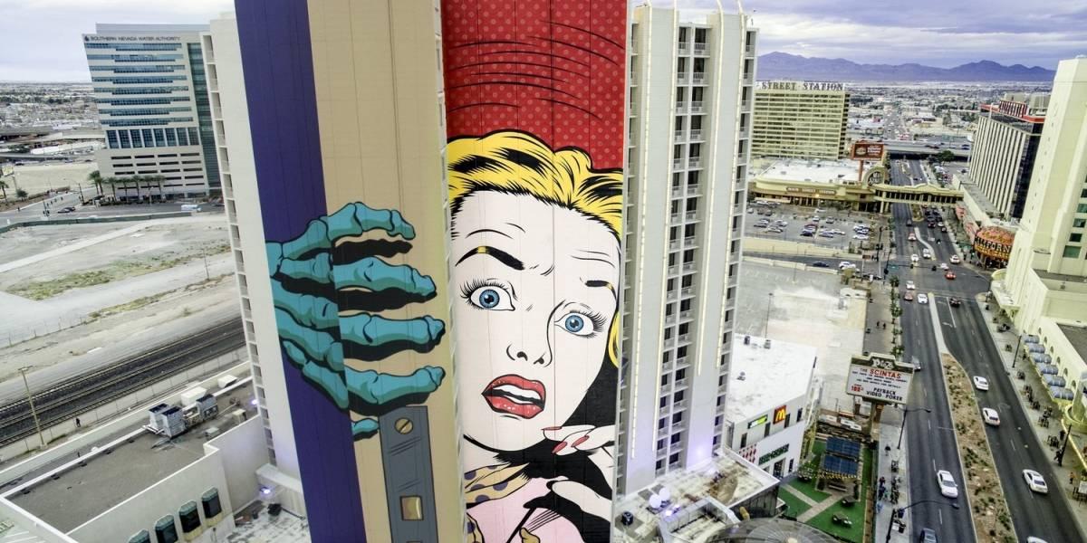 Los coloridos murales urbanos que iluminan Las Vegas