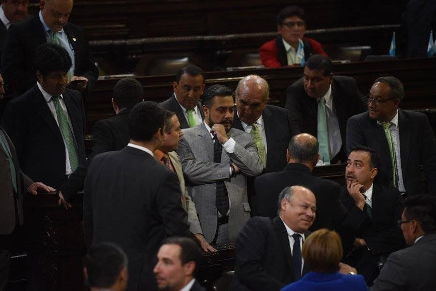 Diputados en el Congreso
