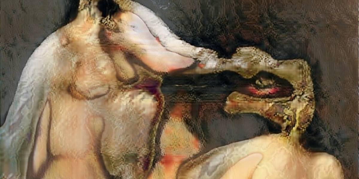 Una inteligencia artificial pintó cuerpos desnudos y dejó terroríficas imágenes