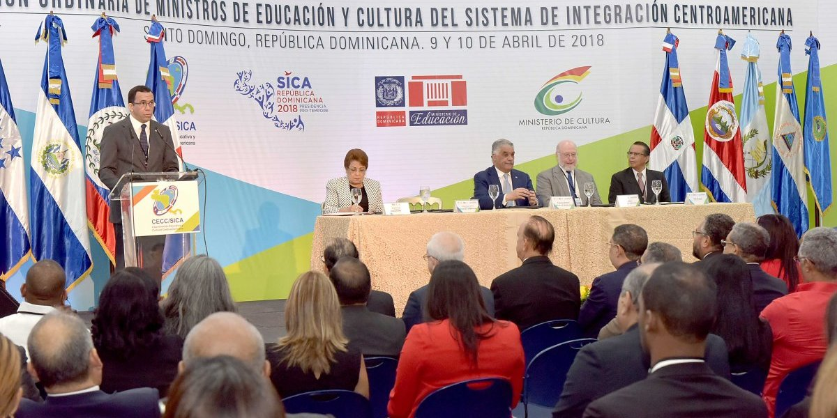 Ministros de Educación y Cultura de Centroamérica inician reunión en RD