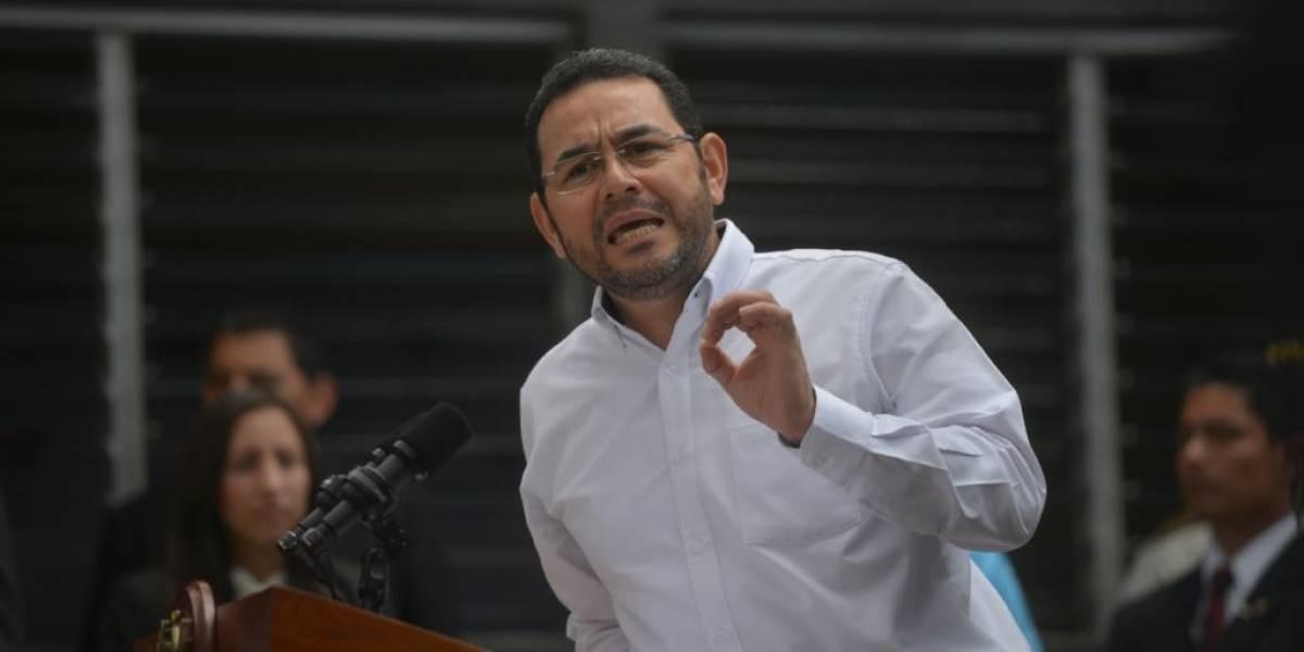 """Presidente por consulta popular sobre Belice: """"No es tiempo de llorar por la leche derramada"""""""