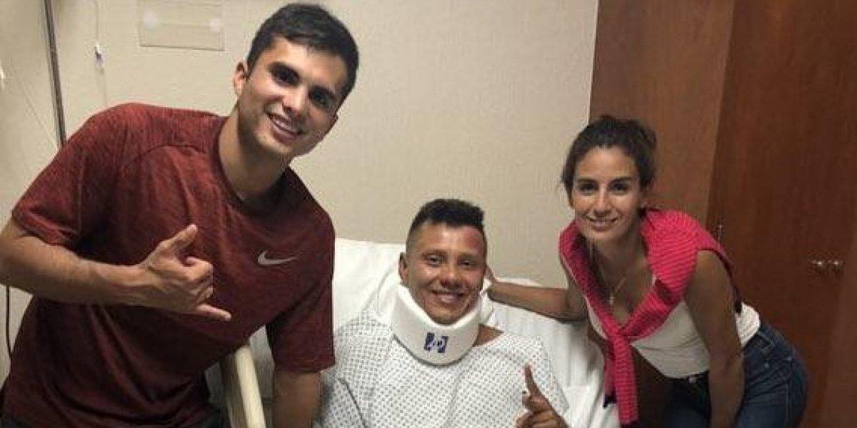 Germán Sánchez es operado con éxito de su fractura