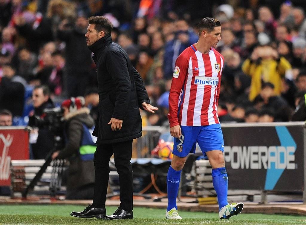 """""""Lo que he tenido que hablar con él lo he hecho de puertas hacia dentro, no de cara a los medios"""", dijo Torres sobre su relación con Simeone / Foto: Getty Images"""