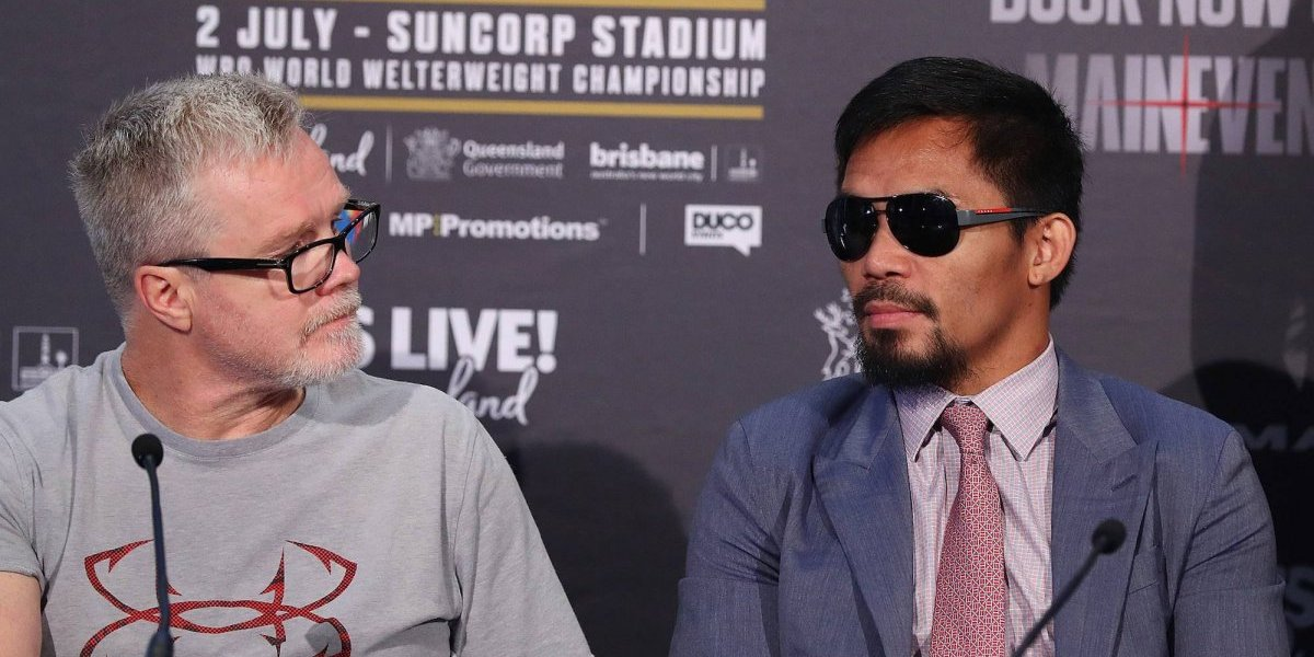 Manny Pacquiao rompe relación con Freddie Roach