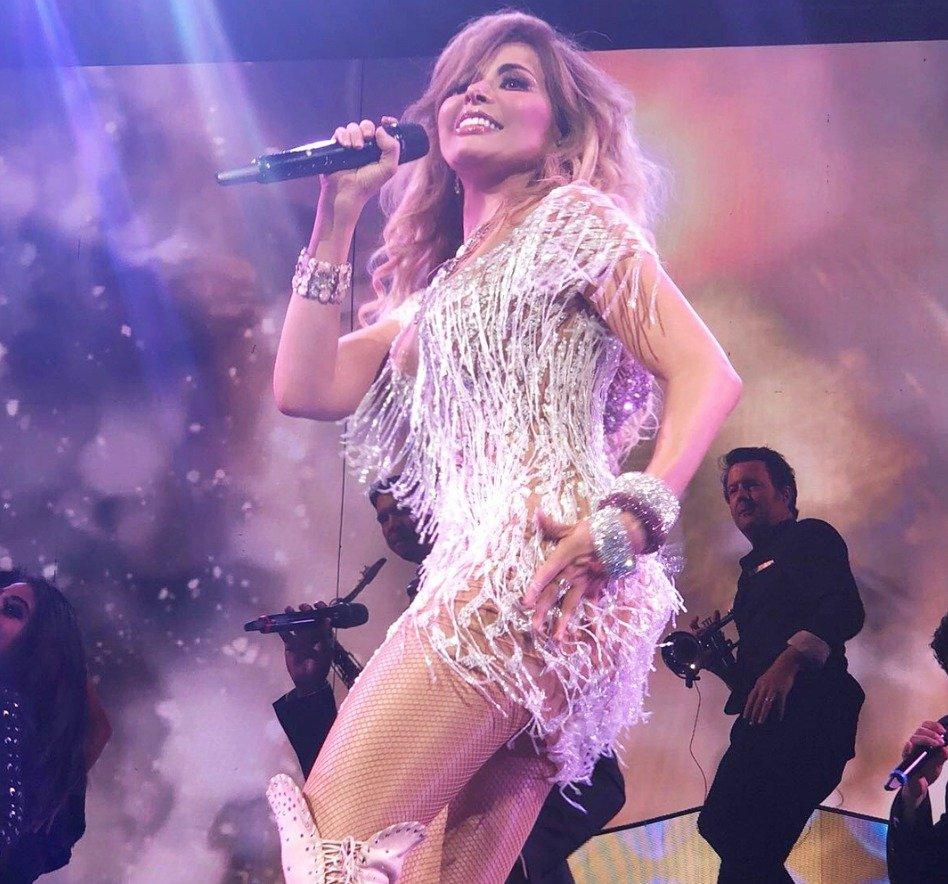 El ex secretario de Educación Aurelio Nuño asistió a uno de los conciertos de Gloria Trevi Instagram