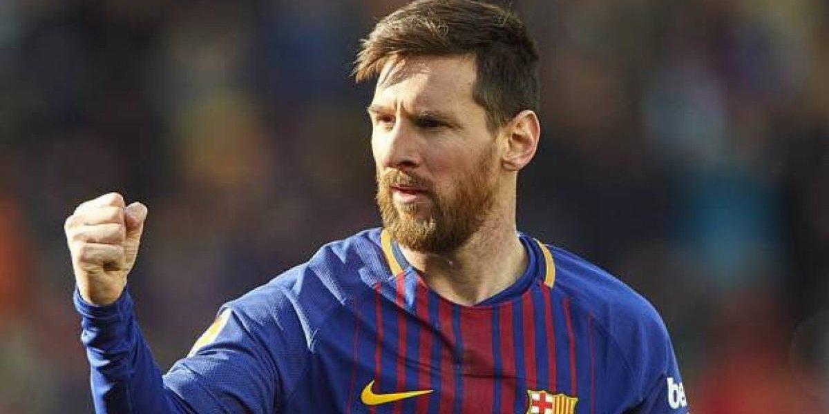 Messi, a romper otra barrera en Italia