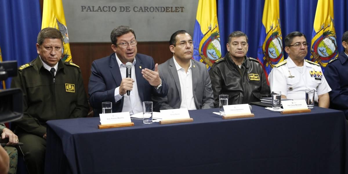 """Ecuador: Secuestrados están """"presuntamente"""" en suelo colombiano"""