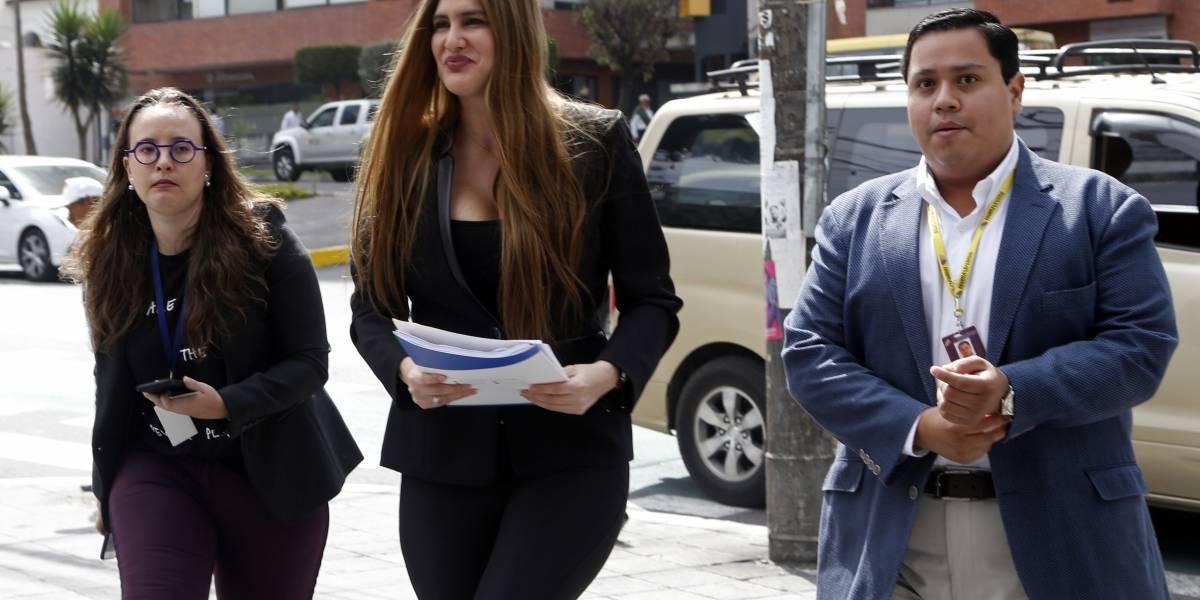 Cristina Reyes pide a la Fiscalía iniciar investigación previa contra Rafael Correa